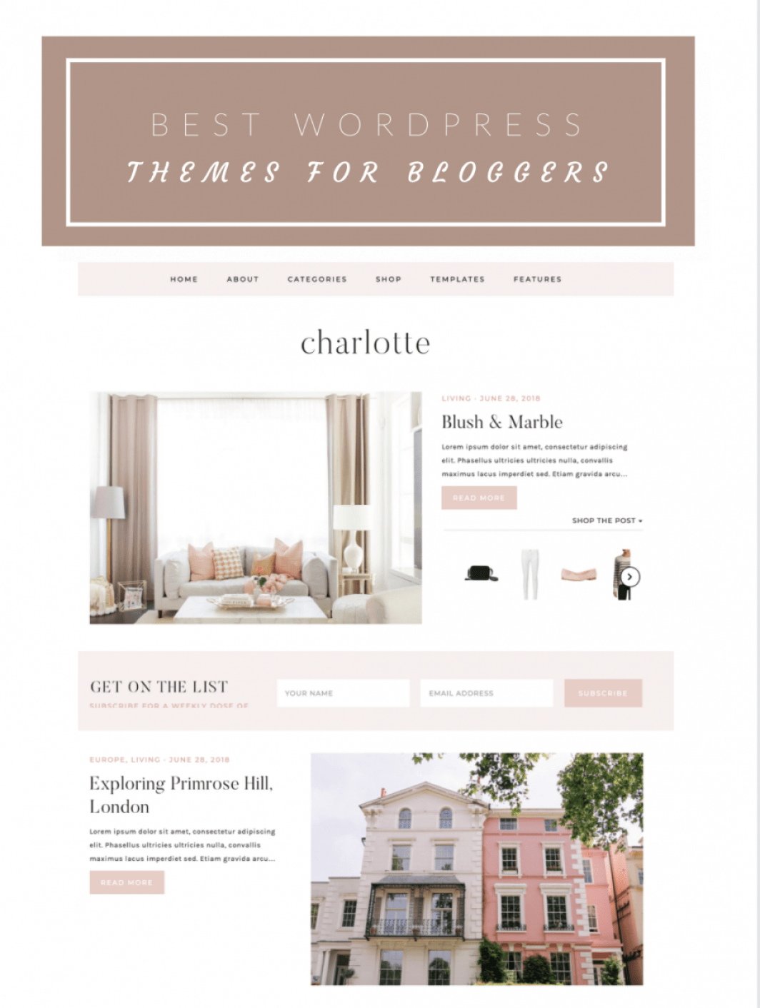 Best WordPress Themes for Fashion Bloggers