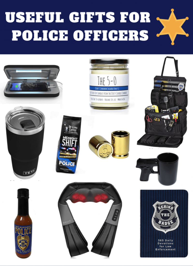 10 Useful Gifts for Police Officers, Cops, and LEOs