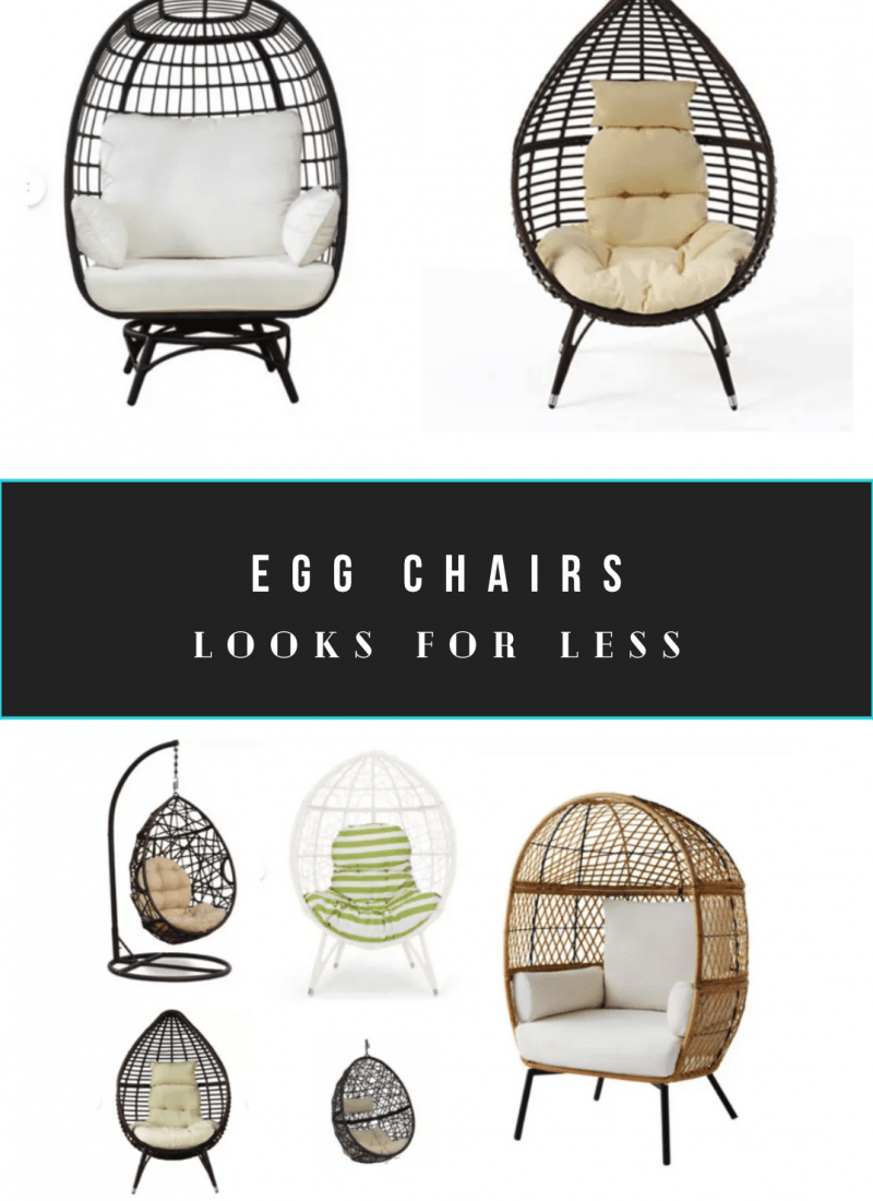 10 Cheap Egg Chairs For Patio and Indoors