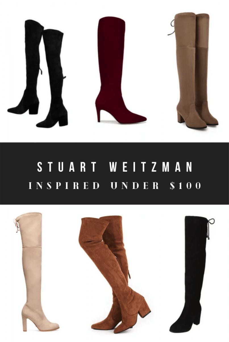 Stuart Weitzman Boots Dupes