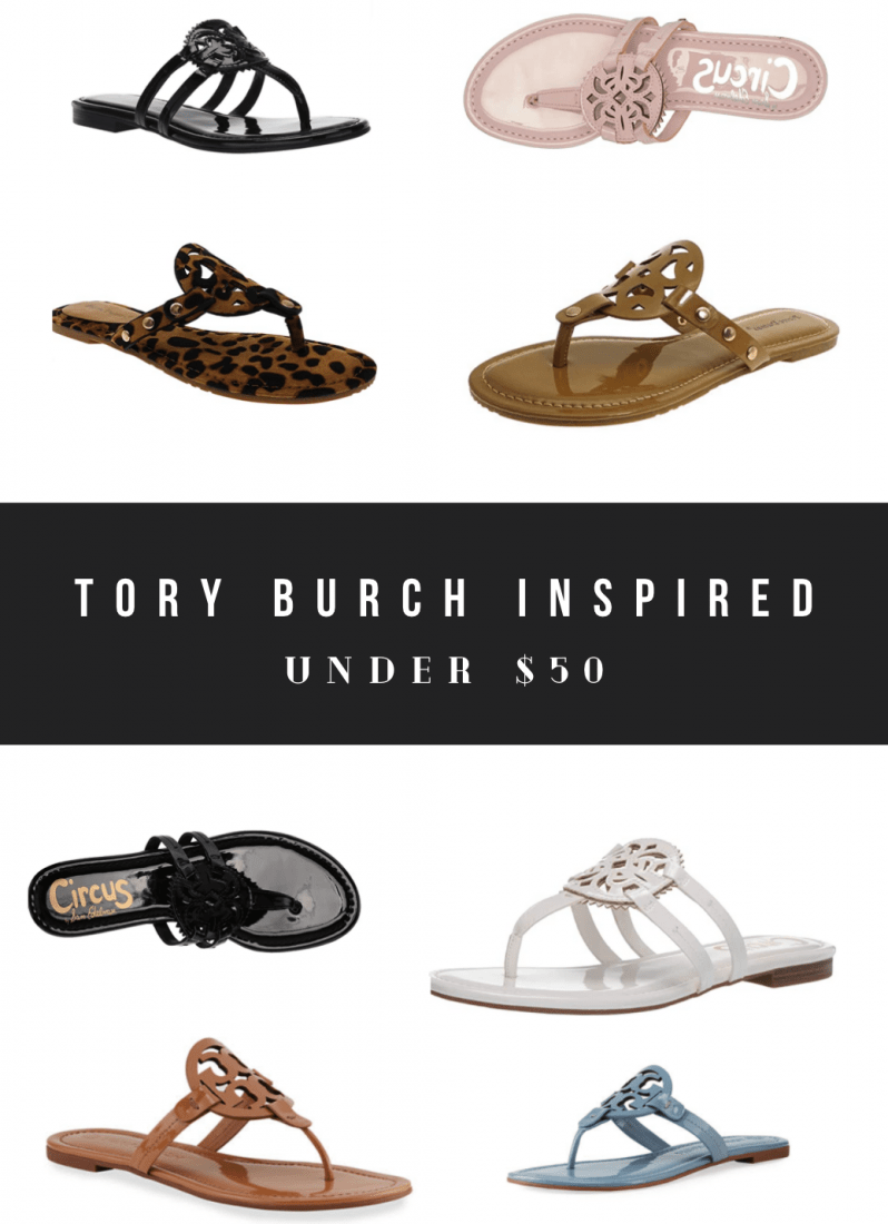 Tory Burch Miller Sandal Dupes and Where to Shop