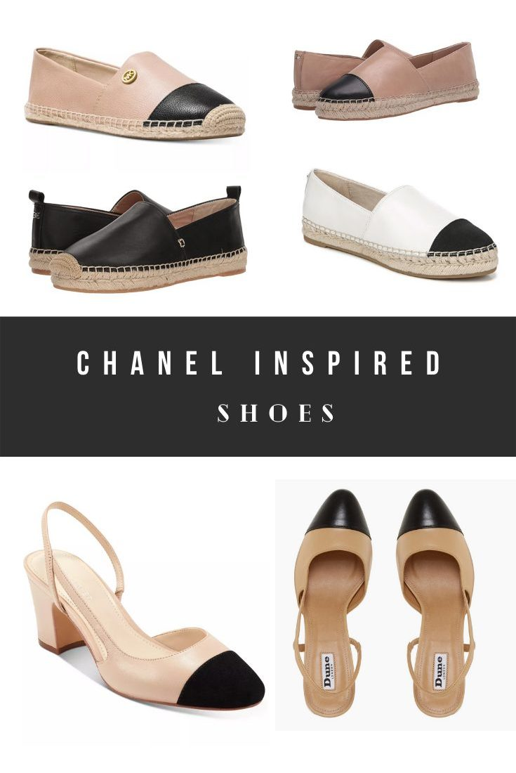 3 Chanel Slingback Dupes And Espadrilles Look Alikes