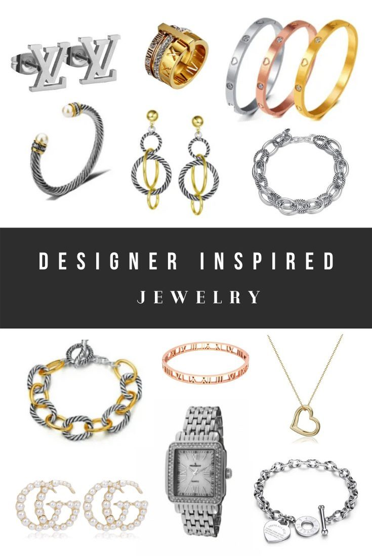 Designer Jewelry Dupes, Designer Inspired Jewelry