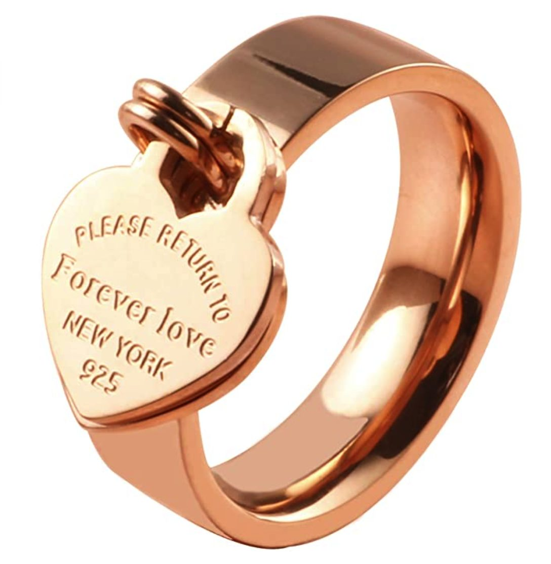 Tiffany and Co Return to Tiffany Rings Dupes
