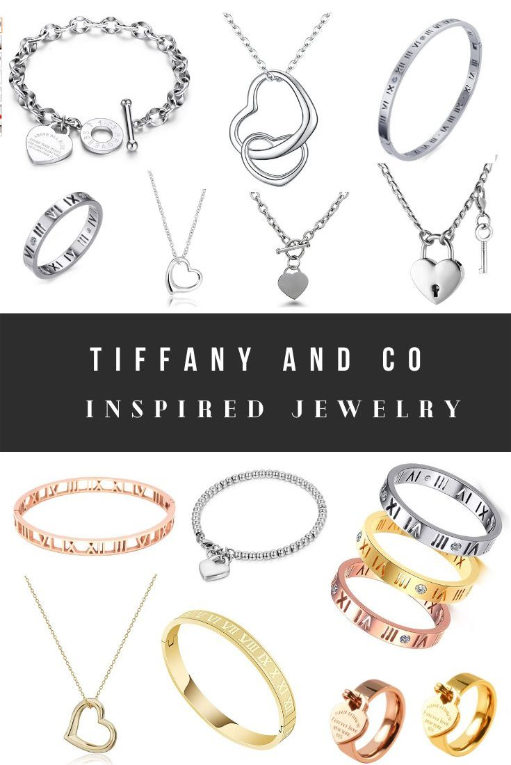 Tiffany and Co Jewelry Dupes
