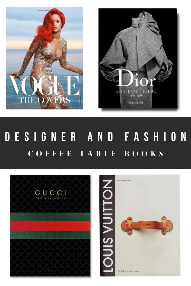 Cheap Fashion and Designer Coffee Table Books on Amazon