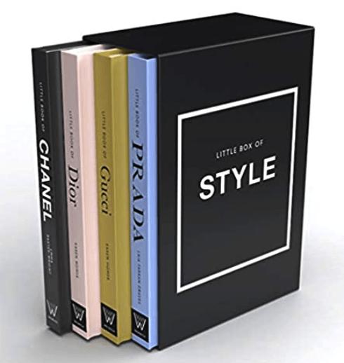 Designer Coffee Table Books Set