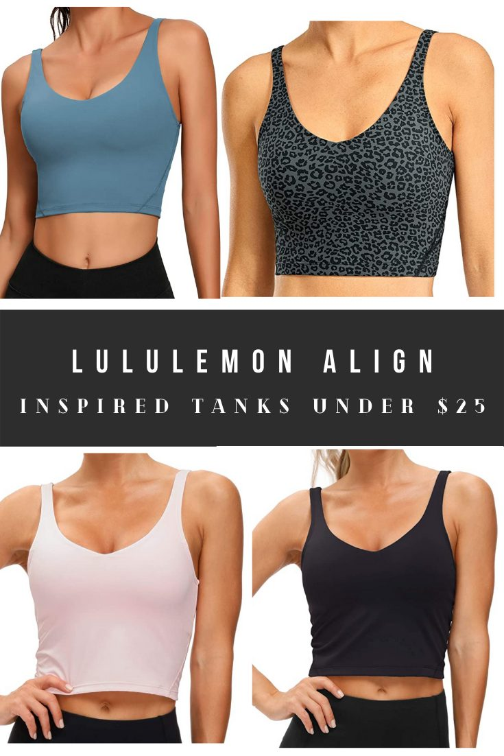 Lululemon Align Top and Tank Dupes
