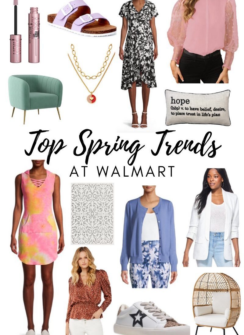 Top Spring Trends at Walmart