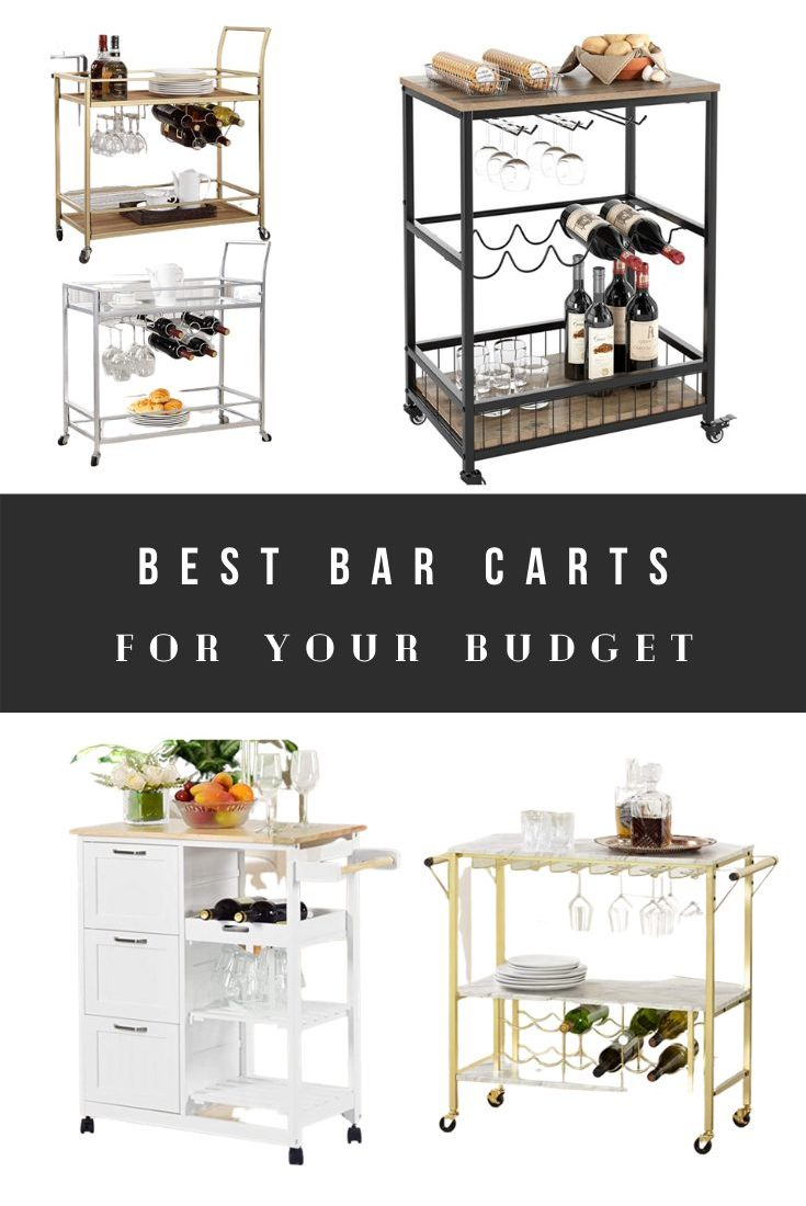 Best Bar Carts 2021 – Cheap Blogger Favorite Bar Carts