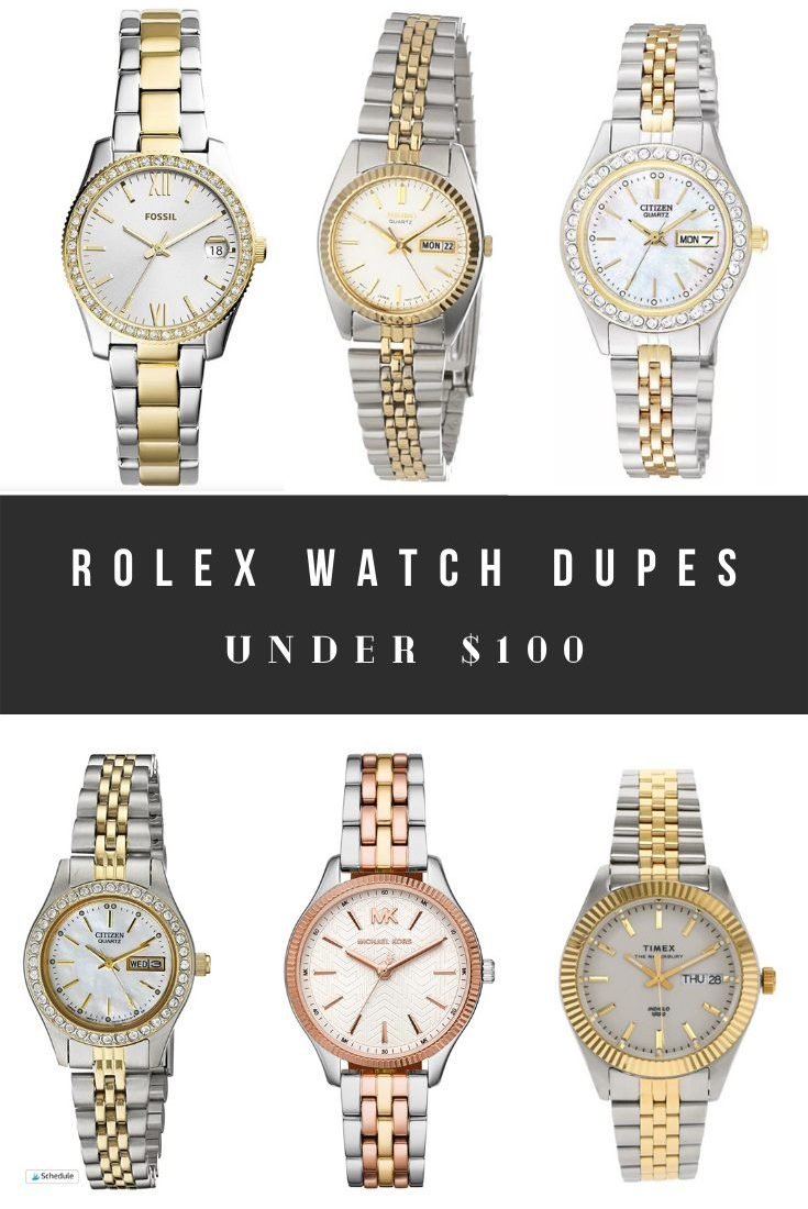 Rolex Dupes, Look Alikes, and Watches Similar to Rolex