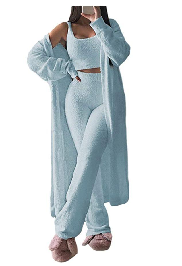 Fuzzy Pajamas