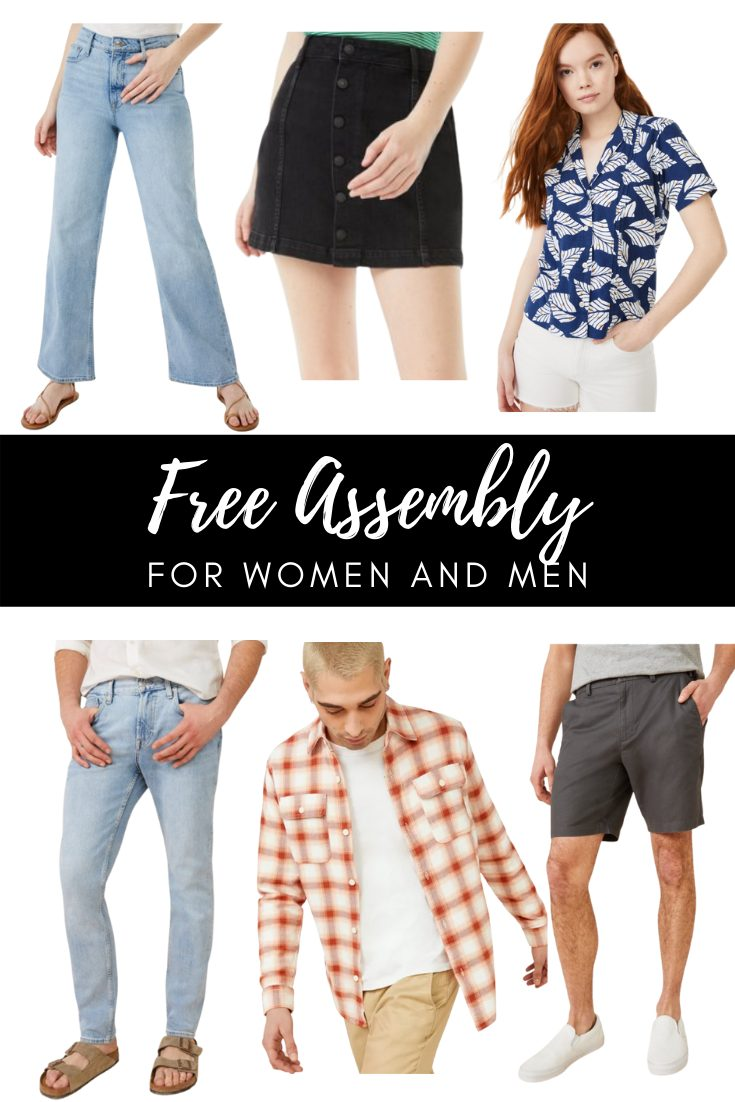 Free Assembly Summer Selection at Walmart - Women and Men