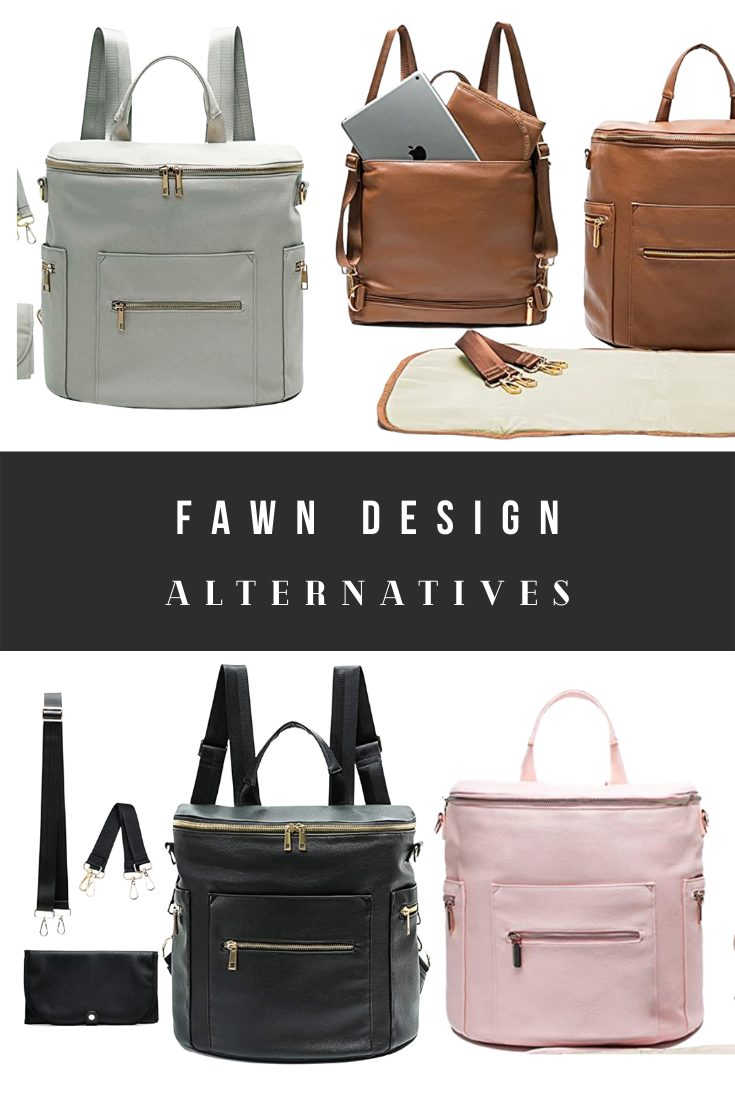 Fawn Design Dupes and Diaper Bag Backpack Look Alikes