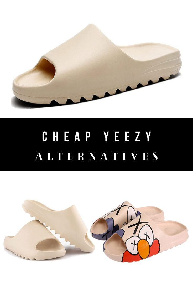 Cheap Yeezy Slides Dupes, Look Alikes, and Alternatives