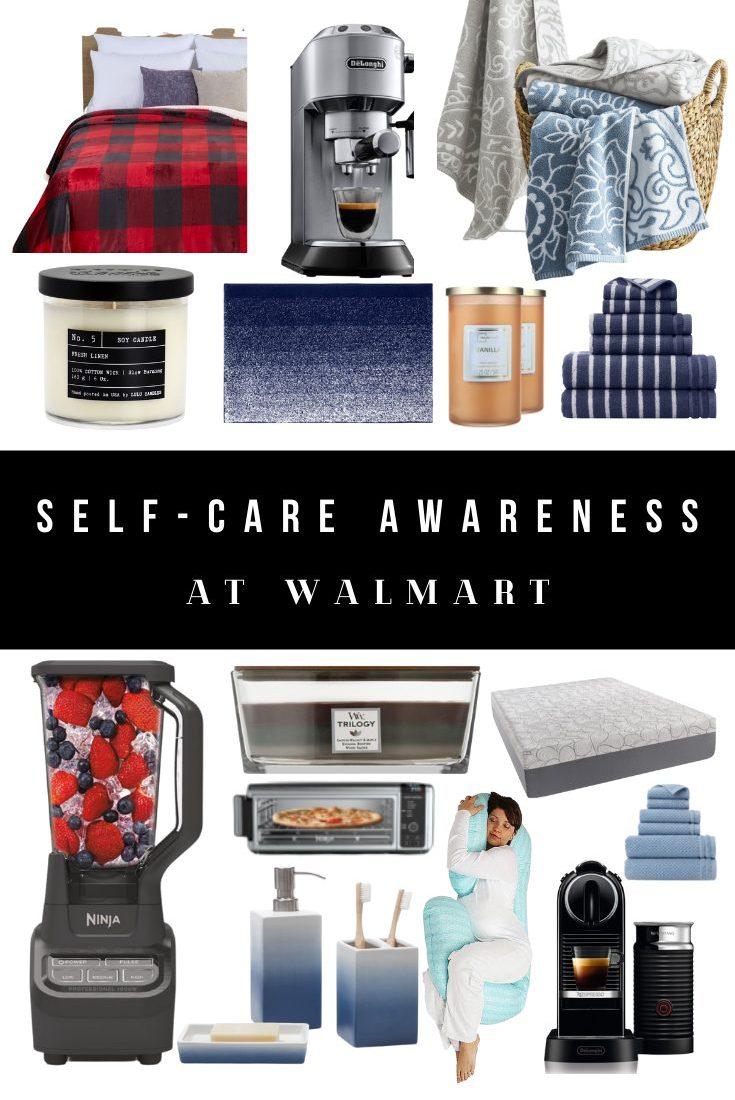Self-Care Awareness Month at Walmart - Home