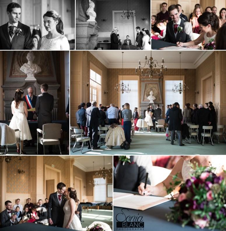 7 - ceremonie civile - mariage à rennes - Bretagne - manoir de la begaudiere - sonia blanc photographe