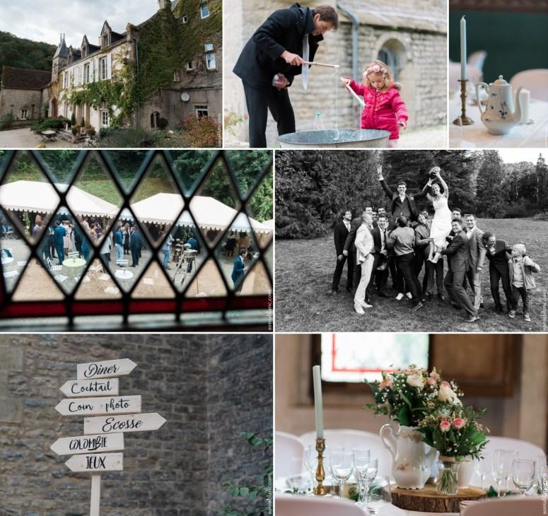 8. sonia blanc photographe - reportage de mariage - vin d'honneur au prieuré de bonvaux à plombieres-les-dijon - bourgogne