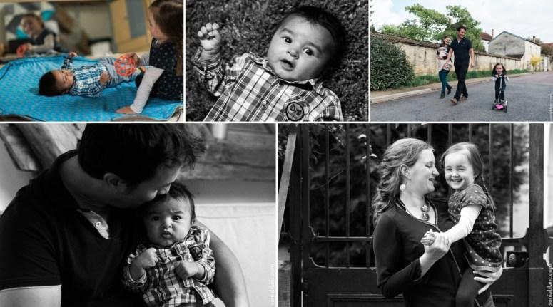 séance photo en famille - dijon - bourgogne