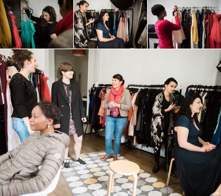 Collaboration entre Adopte une robe et Sonia Blanc Photographe pour un enterrement de vie de jeune fille réussie à Dijon