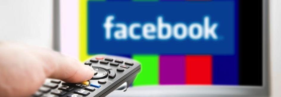 Televisión y Facebook