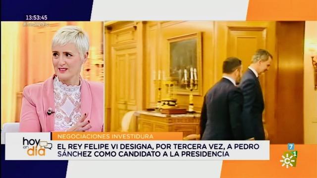 Hoy en día - Canal Sur - 12-12-19 - Sonia Blanco