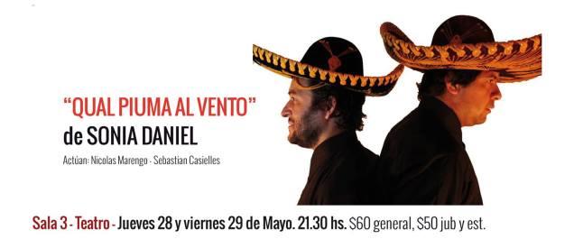 (2015) Grupo de Teatro La libelula- Mendoza- Direccion: Victor Aguero.