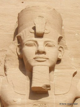 "Ramesses II - AKA ""Ramesses the Great"" - standing guard at the Great Temple, Abu Simbel"