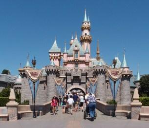 Sleeping Beauty Castle, Disneyland