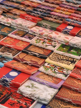 Local crafts at the night market