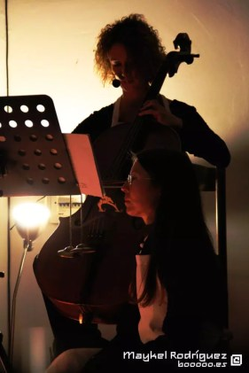 Ana Berenguer y Laura Giménez en Cello Mantra