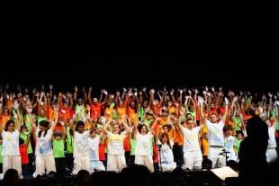 2017'VII'4. Teatro Real de Madrid. Estreno de Somos Naturaleza - saludos 1
