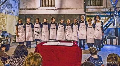 2013 · CoroDelantal en La Tabacalera