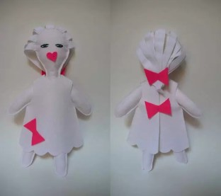 White doll, diseñada por Isis Gayo en 2008