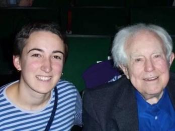 2009'IV. Con Elliot Carter en el 92nd Street Y, NYC