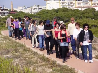2010'V'8. Gira VBL - tras ensayo en la playa de La Mata (Torrevieja)