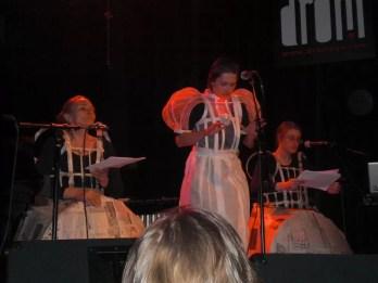 2011-III-27. 'Triangle'. Performance at Drom - 1