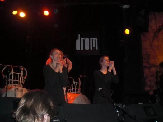 2011'III'27. Estreno de 'Triangle' en la sala Drom - concierto - foto 2
