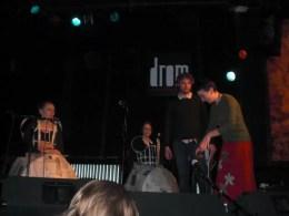 2011'III'27. Estreno de 'Triangle' en la sala Drom - pruebas de sonido