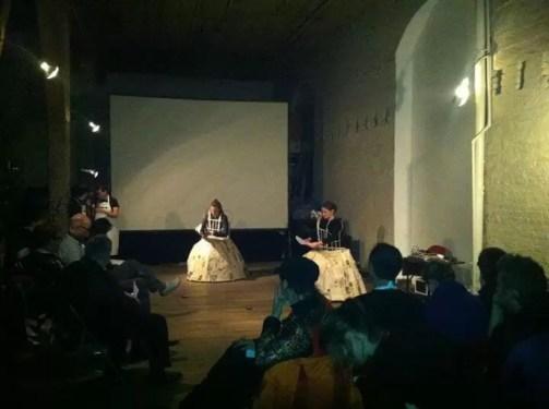 2012'IV'11. II MONO+GRAPHIC. 'Triangle' at Experimental Intermedia, NYC, further