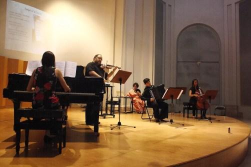 Pablo Gastaminza and María Silvera at the premiere of Sonata - 1