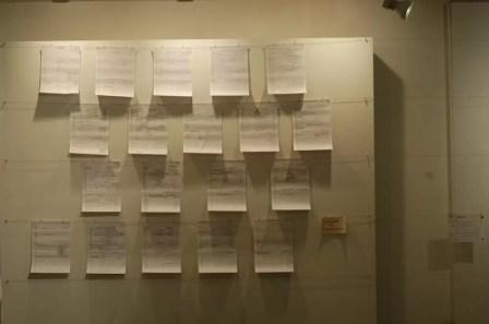 2012'IV'19-25. III MONO+GRAPHIC en el ICNY - Partitura de 'Ffrraarr'