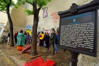Voces Bravas en Marsella - cantando en la calle