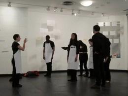 CoroDelantal rehearsal