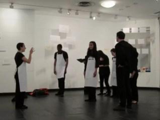 2012'IV'19. III MONO+GRAPHIC en el ICNY - Ensayo del CoroDelantal