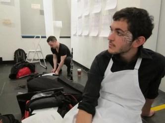 2012'IV'19. III MONO+GRAPHIC en el ICNY - preparando
