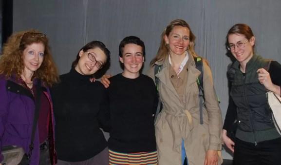2011'IV'24. 'Triangle' en el NYU Black Box Theater - foto de equipo