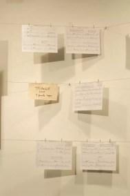 2012'IV'19-25. III MONO+GRAPHIC. Partitura de 'Triangle' en el Instituto Cervantes de NYC