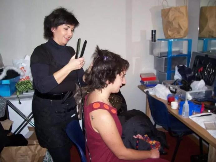 2007'XII. Almansa. Estreno de La mitad del camino en el Teatro Regio - ¡La pelu!