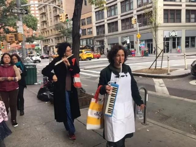 2016'X'16. Nueva York. XI Procesión armónica - caminando